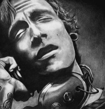 Portrait of Brandon Boyd by lisasuriani
