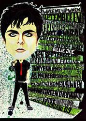Billie Joe 'American Idiot' by lisasuriani