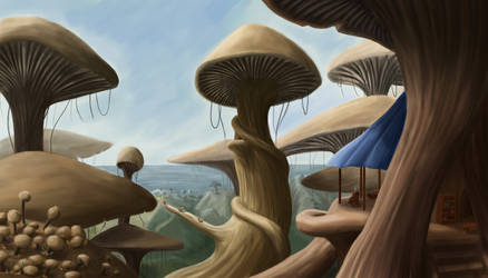 More Mushrooms by laspinter