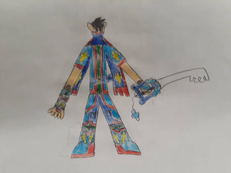 Jorge the key blade master  by JAsorra