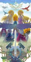 The Legend of Zelda - Skyward Sword by vandraws