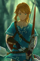The Legend of Zelda - Breath of The Wild by vandraws