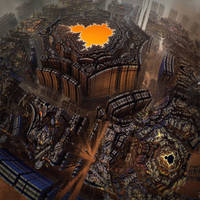 Temple of Chaotic Borderlines by MANDELWERK