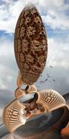 GoddessWithRhinocerousNecklace by MANDELWERK