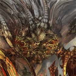 Evil Fly of Thistle fractal by MANDELWERK