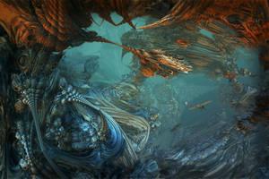 Underwater kind of remembrance by MANDELWERK