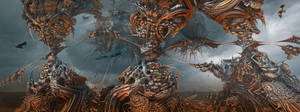 Fighting Fractal Gods by MANDELWERK