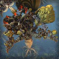 The Tree of Holy Grails by MANDELWERK