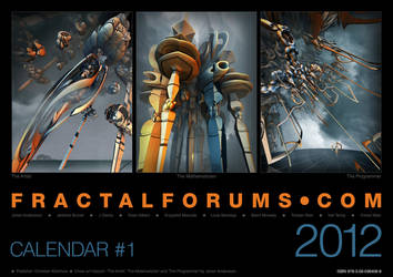 FRACTALFORUMS.COM CALENDAR 2012 by MANDELWERK