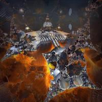 Julia Nebula Palace by MANDELWERK