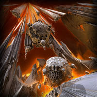 Underneath the calm surface... DOOMSDAY by MANDELWERK