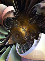 The Hexagonal Spirit of Cryogenic Chamber Delirium by MANDELWERK