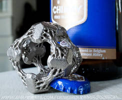 Cubic Woods - the Fractal Bottle Opener by MANDELWERK