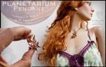 Planetarium Pendant - Fractal Jewelry by MANDELWERK