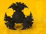 GLOBAL HAZARD - Super Detailed 3D Printed Fractal by MANDELWERK
