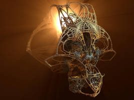 Fractal Cranium by MANDELWERK