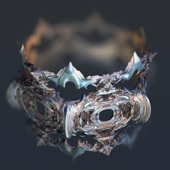 Intestines of complex numbers - 12 spined render by MANDELWERK