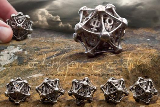 Alchemist's Dice - D20 by MANDELWERK