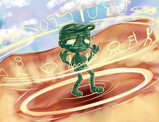 Amumu Curse of the sad mummy by MyKawaiiMomo-chan