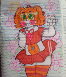 Thicc Circus Baby by MagicRainbowOfChica