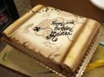 Treasure Map Cake by Erisana