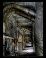 Pipes and Passageway by CellarDweller