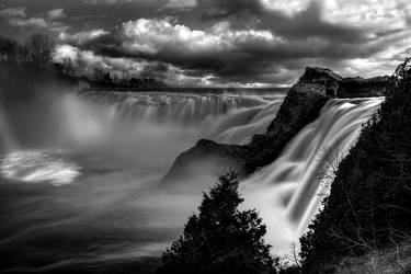Chaudiere Falls - Quebec by Pi-Unresolved