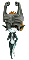 Midna by lolitaii