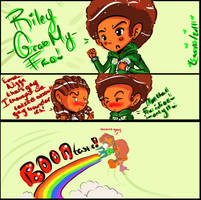 The Boondocks-Grab my.. by o0Essa0o