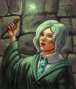 Girl from Slytherin by Duran-F