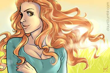 Ginger Fabulous: Lydia Martin by dauntingfire