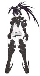 Insane Black Rock Shooter by themultiplayer1