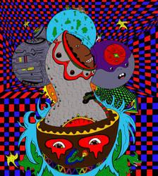 Space Cadet (Color) by Fractalvision