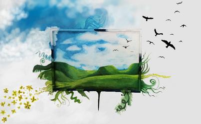 Imagination cross boundaries 2 by shilgiia