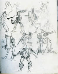 Mechs by Ludwig1920