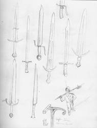 Swords and knifes by Ludwig1920