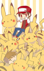 Mount Pikachu by oiiChyo