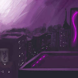 Cityscape Quickie by Lumarie