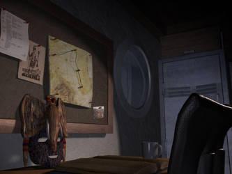 Ship Cabin by Lumarie