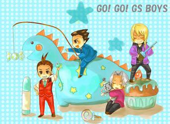 GYAKUSAI BOYS by KT-910