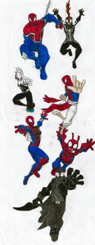 Across the Spider-Verse: Web-Warriors by Newworlds117