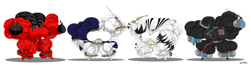 Waifu 6th rangers groupshot 2 By Matl by ulquiorra461372