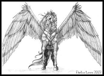 Proud Pegasus by hfc