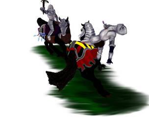 Friesian Warriors by hfc