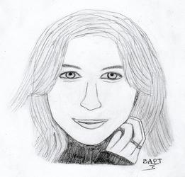 Emilie de Ravin portrait by b4pt