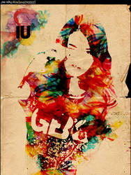 IU In G by Guess by wancub