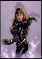 Black Widow by Guy-Bigbelly
