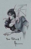 Shadowcat, Convention Sketch by Guy-Bigbelly