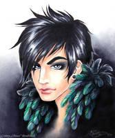 Adam Lambert Bird of Paradise by ConnyChiwa