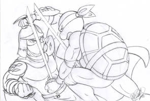 TMNT_sketch_1 by BekaDavisStudios